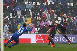 """Foto Filippo Rubin<br /> 03/03/2018 Ferrara (Italia)<br /> Sport Calcio<br /> Spal - Bologna - Campionato di calcio Serie A 2017/2018 - Stadio """"Paolo Mazza""""<br /> Nella foto: SEBASTIAN DE MAIO  (BOLOGNA)<br /> <br /> Photo by Filippo Rubin<br /> March 03, 2018 Ferrara (Italy)<br /> Sport Soccer<br /> Spal vs Bologna - Italian Football Championship League A 2017/2018 - """"Paolo Mazza"""" Stadium <br /> In the pic: SEBASTIAN DE MAIO  (BOLOGNA)"""
