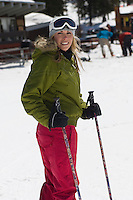 Skier at Ski Resort