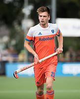 WAALWIJK -  RABO SUPER SERIE. Thierry Brinkman (Ned)  tijdens  de hockeyinterland heren  Nederland-India,  ter voorbereiding van het EK,  dat vrijdag 18/8 begint.  COPYRIGHT KOEN SUYK