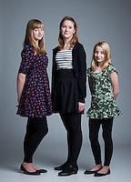 """Frá """"frænda og frænku"""" myndatöku fyrir jólin 2010."""