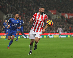 Jonathan Walters of Stoke City in action - Mandatory by-line: Jack Phillips/JMP - 17/12/2016 - FOOTBALL - Bet365 Stadium - Stoke-on-Trent, England - Stoke City v Leicester City - Premier League
