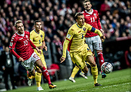 FOOTBALL: Vlad Chiricheş (Romania) during the World Cup 2018 UEFA Qualifier Group E match between Denmark and Romania at Parken Stadium on October 8, 2017 in Copenhagen, Denmark. Photo by: Claus Birch / ClausBirch.dk.