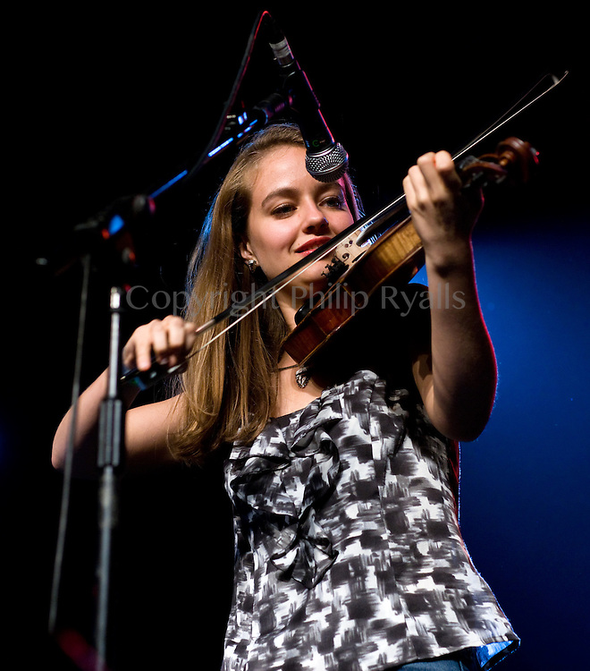 CAMBRIDGE, UK - JULY 31: Hulda Quebe of The Quebe Sisters Band performs on stage at Cambridge Folk Festival on July 31st, 2010 in Cambridge, United Kingdom. (Photo by Philip Ryalls/Redferns)**Hulda Quebe