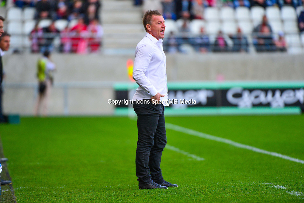 Olivier GUEGAN  - 12.04.2015 - Reims / Nice - 32eme journee de Ligue 1 <br />
