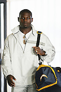 ONTARIO - JULY 23:  Running back LaDainian Tomlinson of the San Diego Chargers during the filming of the NFL's 2005 Super Bowl XL television ad campaign in Ontario, California on July 23, 2005. ©Paul Anthony Spinelli *** Local Caption *** LaDainian Tomlinson