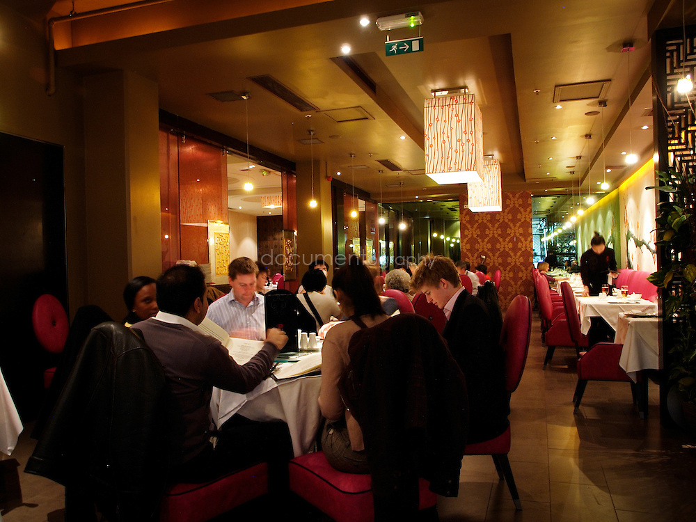 The Pearl Liang (Chinese Restaurant).8 Sheldon Square, Paddington Central, London..