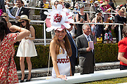 TRACY ROSE, Glorious Goodwood. Ladies Day. 28 July 2011. <br /> <br />  , -DO NOT ARCHIVE-© Copyright Photograph by Dafydd Jones. 248 Clapham Rd. London SW9 0PZ. Tel 0207 820 0771. www.dafjones.com.