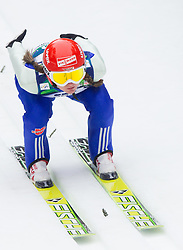 Anna Haefele of Germany during Normal Hill Individual Competition at FIS World Cup Ski jumping Ladies Ljubno 2012, on February 11, 2012 in Ljubno ob Savinji, Slovenia. (Photo By Vid Ponikvar / Sportida.com)