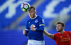 BIRKENHEAD, ENGLAND - Sunday, October 23, 2016: Everton's Gethin Jones during the Mini-Derby FA Premier League 2 Under-23 match at Prenton Park. (Pic by David Rawcliffe/Propaganda)