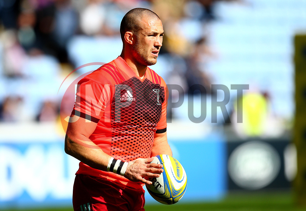Mike Brown of Harlequins - Mandatory by-line: Robbie Stephenson/JMP - 17/09/2017 - RUGBY - Ricoh Arena - Coventry, England - Wasps v Harlequins - Aviva Premiership