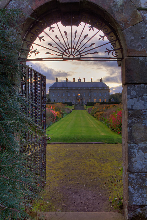 The Fish Gate allows access from the Kinross House and gardens to Loch Leven.