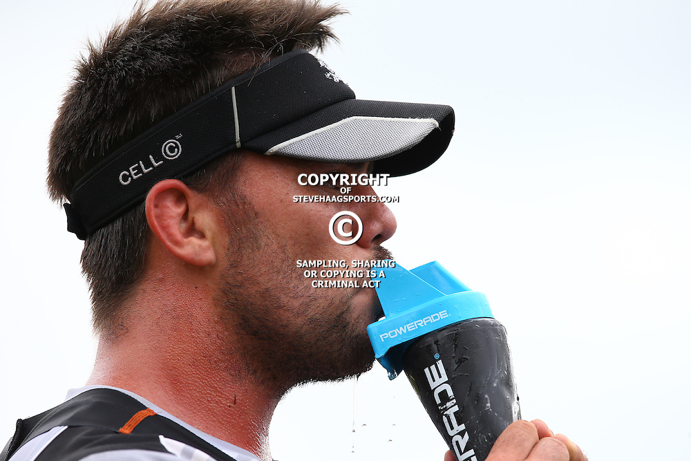 DURBAN, SOUTH AFRICA - JANUARY 13: Francois Klenhans during the Cell C Sharks training session at Growthpoint Kings Park on January 13, 2017 in Durban, South Africa. (Photo by Steve Haag/Gallo Images)