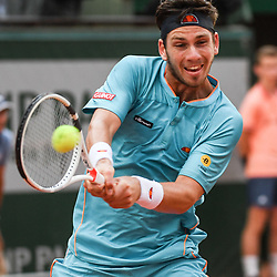 Cameron Norrie (GBR) during Day 4 for the French Open 2018 on May 30, 2018 in Paris, France. (Photo by Anthony Dibon/Icon Sport)