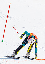 22.02.2018, Yongpyong Alpine Centre, Pyeongchang, KOR, PyeongChang 2018, Ski Alpin, Herren, Slalom, 2. Durchgang, im Bild Andre Myhrer (SWE, 1. Platz) // gold medalist and Olympic champion Andre Myhrer of Sweden in action during the men's 2st run Slalom race of the Pyeongchang 2018 Winter Olympic Games at the Yongpyong Alpine Centre in Pyeongchang, South Korea on 2018/02/22. EXPA Pictures © 2018, PhotoCredit: EXPA/ Johann Groder