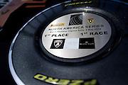 May 2-4, 2014: Laguna Seca Raceway. Winner's trophy