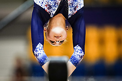 October 28, 2018 - Doha, Quatar - Lorette Charpy of  France   during  Balancing Beam qualification at the Aspire Dome in Doha, Qatar, Artistic FIG Gymnastics World Championships on 28 of October 2018. (Credit Image: © Ulrik Pedersen/NurPhoto via ZUMA Press)