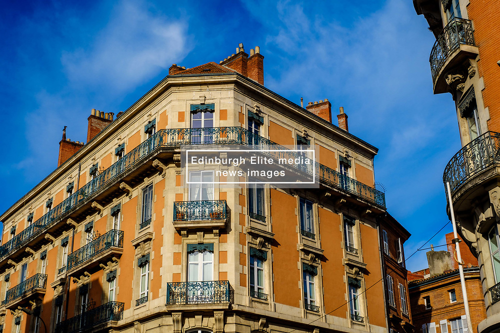 Traditional French architecture in Toulouse, FRance<br /> <br /> (c) Andrew Wilson | Edinburgh Elite media