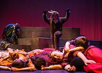 "Winnipesaukee Playhouse ""Joseph and the Amazing Technicolor Dreamcoat"" dress rehearsal.  Karen Bobotas for the Laconia Daily Sun"