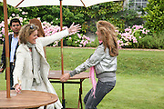 VICTORIA CONRAN AND MARIANNE SACHS, Cartier Style et Luxe lunch. Goodwood.  24 June 2007.  -DO NOT ARCHIVE-© Copyright Photograph by Dafydd Jones. 248 Clapham Rd. London SW9 0PZ. Tel 0207 820 0771. www.dafjones.com.
