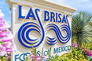 Las Brisas Foods of Mexico Signage in Laguna Beach
