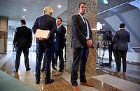 DEN HAAG, 21 september.<br /> Algemene Politieke Beschouwingen, daags na Prinsjesdag. Wilders op weg naar de plenaire zaal na de lunchpauze.<br /> FOTO MARTIJN BEEKMAN