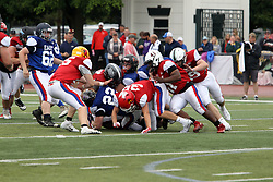 15 June 2019:  Illinois Shriner High School All Stars Football At Tucci Stadium in Bloomington Illinois