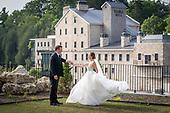 Amanda & Jonas' gorgeous Elora Mill July wedding