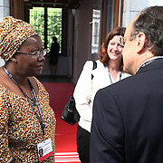 20160615 - Brussels , Belgium - 2016 June 15th - European Development Days - Bilateral Meeting <br /> Nyaradzayi Gumbozvanda<br /> Representative of CONCORD Europe / International Board Chair, Action Aid International<br /> &copy; European Union