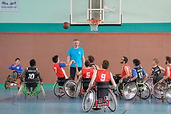 Basket Fauteuil aux Jeux Nationaux de L'Avenir