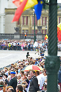 Illustration during the military parade on the Belgian National Day pictured during the military parade on the Belgian National Day, <br /> Brussels, 21 July 2015, Belgium