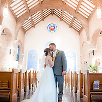 Trey & Brooke Wedding Photography Samples | St. Peter's Catholic Church and Vintage Court | 1216 Studio Wedding Photography