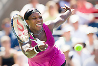 Serena Williams plays in the U.S. Open. She has an Open Era record 23 Grand Slam singles titles, one behind Margaret Court's all-time record of 24.