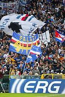 Genova 30-10-2004<br /> <br /> Campionato  Serie A Tim 2004-2005<br /> <br /> Sampdoria Milan<br /> <br /> nella  foto Sampdoria Fans<br /> <br /> Foto Snapshot / Graffiti