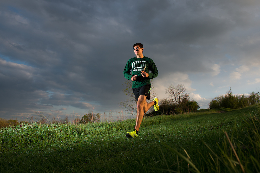 Tyler Ames Undergraduate Admissions People Students Ridges Cross Country VOICES of OHIO