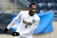 15 December 2013: Notre Dame's Leon Brown. The University of Maryland Terripans played the University of Notre Dame Fighting Irish at PPL Park in Chester, Pennsylvania in a 2013 NCAA Division I Men's College Cup championship match. Notre Dame won the game 2-1.