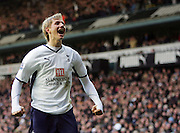 Roman Pavlyuchenko celebrates goal. Tottenham Hotspur FC vs Blackburn Rovers FC Premier League 23/11/08.