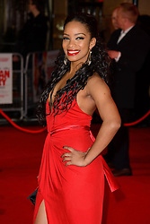 Yanet Fuentes attends The World Premiere of 'Cuban Fury'. Leicester Square, London, United Kingdom. Thursday, 6th February 2014. Picture by Chris Joseph / i-Images