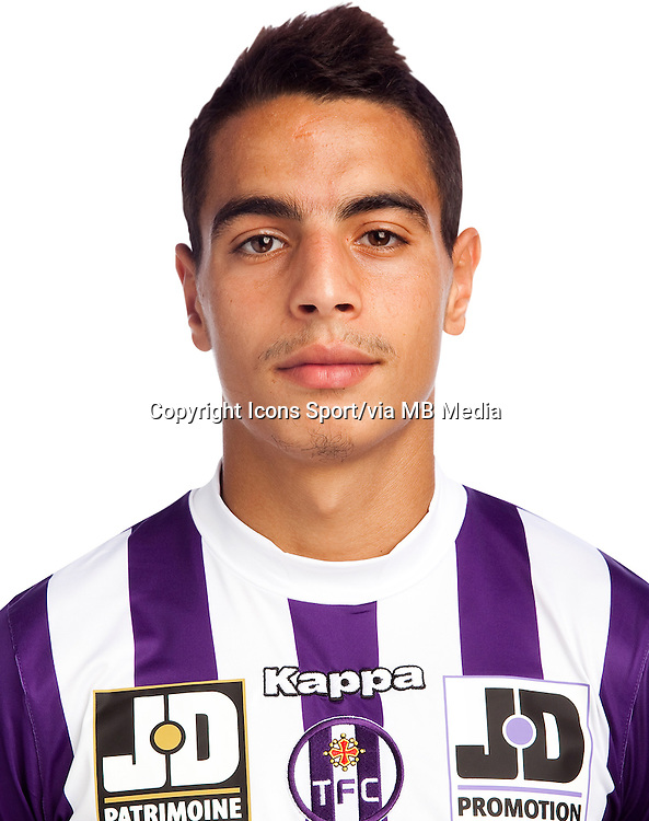 Wissam Ben Yedder - 02.10.2013 - Photo officielle Toulouse - Ligue 1<br /> Photo : Icon Sport