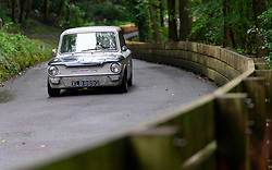 Boness Revival hillclimb motorsport event in Boness, Scotland, UK. The 2019 Bo'ness Revival Classic and Hillclimb, Scotland's first purpose-built motorsport venue, it marked 60 years since double Formula 1 World Champion Jim Clark competed here.  It took place Saturday 31 August and Sunday 1 September 2019. 32 Jenny Howells Hillman Super Imp