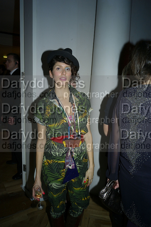CIBELLE CAVALLI, TOD'S Art Plus Film Party 2008. Party to raise funds for the Whitechapel art Gallery.  One Marylebone Road, London NW1, 6 March, 8.30 - late<br /> *** Local Caption *** -DO NOT ARCHIVE-&copy; Copyright Photograph by Dafydd Jones. 248 Clapham Rd. London SW9 0PZ. Tel 0207 820 0771. www.dafjones.com.