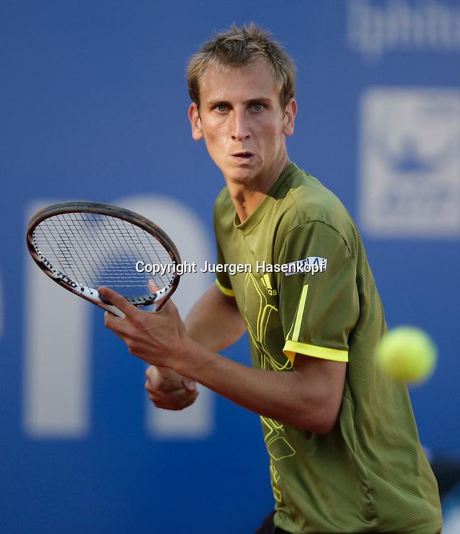 BMW Open 2009, Muenchen, Sport, Tennis,  International Series ATP  Tournament,  Thiemo De Bakker (NED),Aktion...Foto: Juergen Hasenkopf