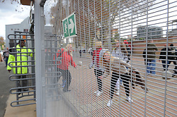19 May 2018, Johannesburg. Emirates Airlines Park, Ellis Park.  Sceurity fence around the stadium precinct. <br />