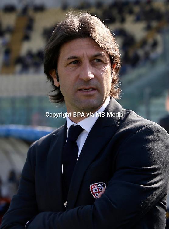 Italian League Serie A -2016-2017 / <br /> ( Cagliari Calcio ) - <br /> Massimo Rastelli - DT Cagliari Calcio