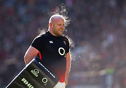 Dan Cole of England during an open training session at Twickenham - Mandatory by-line: Robbie Stephenson/JMP - 16/02/2018 - RUGBY - Twickenham Stadium - London, England - England Rugby Open Training Session
