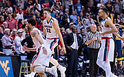Gonzaga beat West Virginia in San Jose, California, to advance to the  Elite Eight. (Photo by Edward Bell)