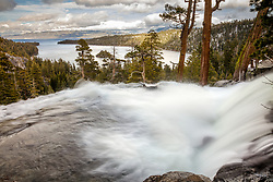 """Eagle Falls at Emerald Bay 2"" - Photograph of Eagle Falls and Emerald Bay, Lake Tahoe."