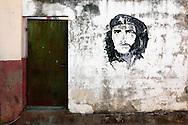 Image of Ernesto Che Guevara in Guanajay, Artemisa, Cuba.