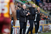 Simon Grayson Bradford City's First Team Manager during the EFL Sky Bet League 1 match between Bradford City and Gillingham at the Northern Commercials Stadium, Bradford, England on 24 March 2018. Picture by Paul Thompson.