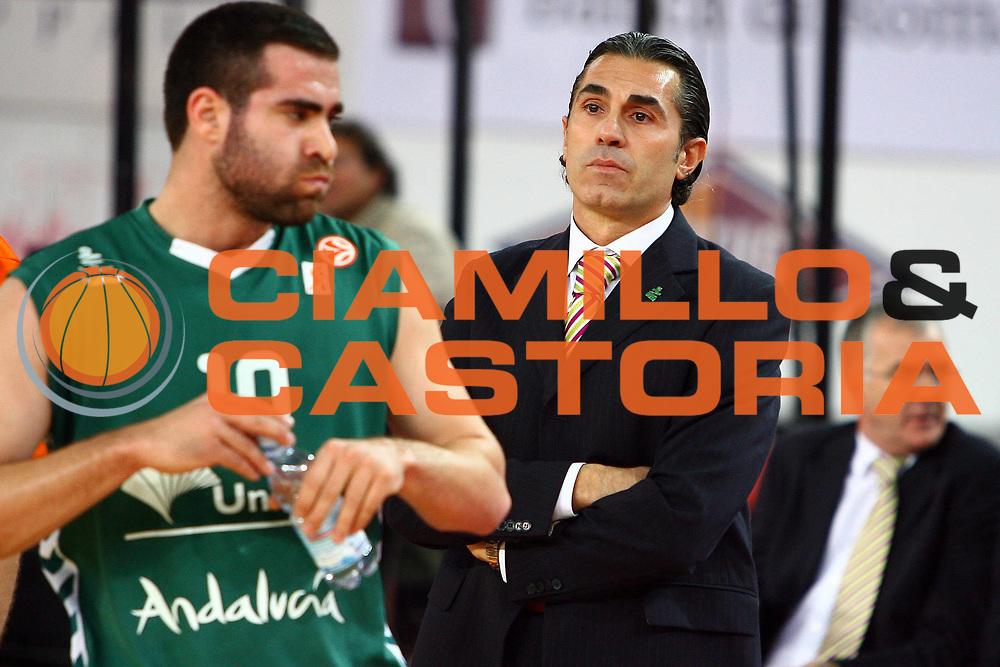 DESCRIZIONE : Roma Eurolega 2006-07 Lottomatica Virtus Roma Unicaja Malaga<br /> GIOCATORE : Cabezas Scariolo<br /> SQUADRA : Unicaja Malaga<br /> EVENTO : Eurolega 2006-2007 <br /> GARA : Lottomatica Virtus Roma Unicaja Malaga<br /> DATA : 29/11/2006 <br /> CATEGORIA : <br /> SPORT : Pallacanestro <br /> AUTORE : Agenzia Ciamillo-Castoria/E.Castoria