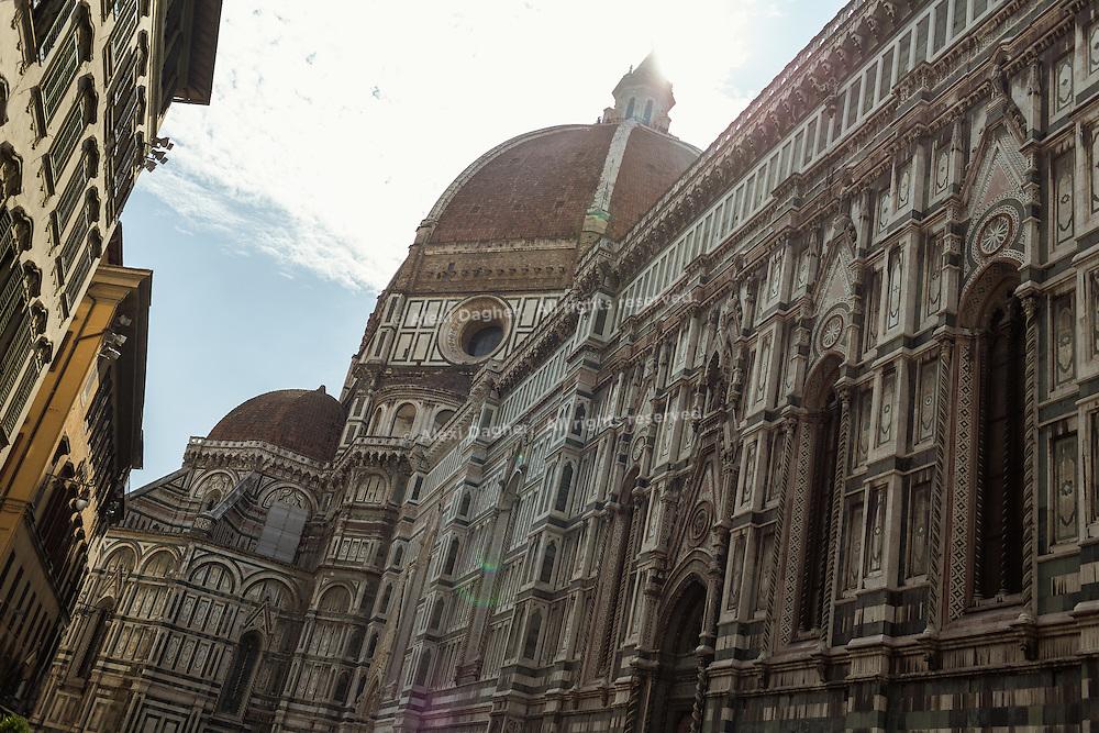 Basilica di Santa Maria del Fiore (Basilica of Saint Mary of the Flower) in Florence, Italy 2014
